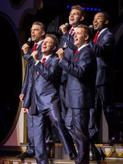 Male vocal group The ShowMen, which features one new singer this year, is a popular staple on the Showboat Branson Belle.
