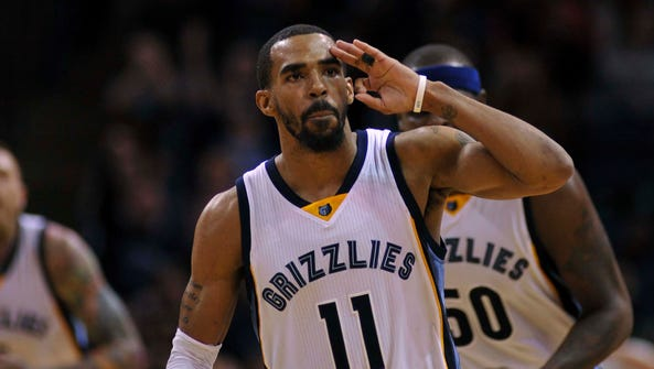 Mike Conley reached a five-year, $153 million contract