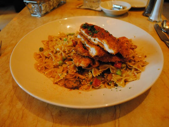 The Louisiana Chicken Pasta at The Cheesecake Factory