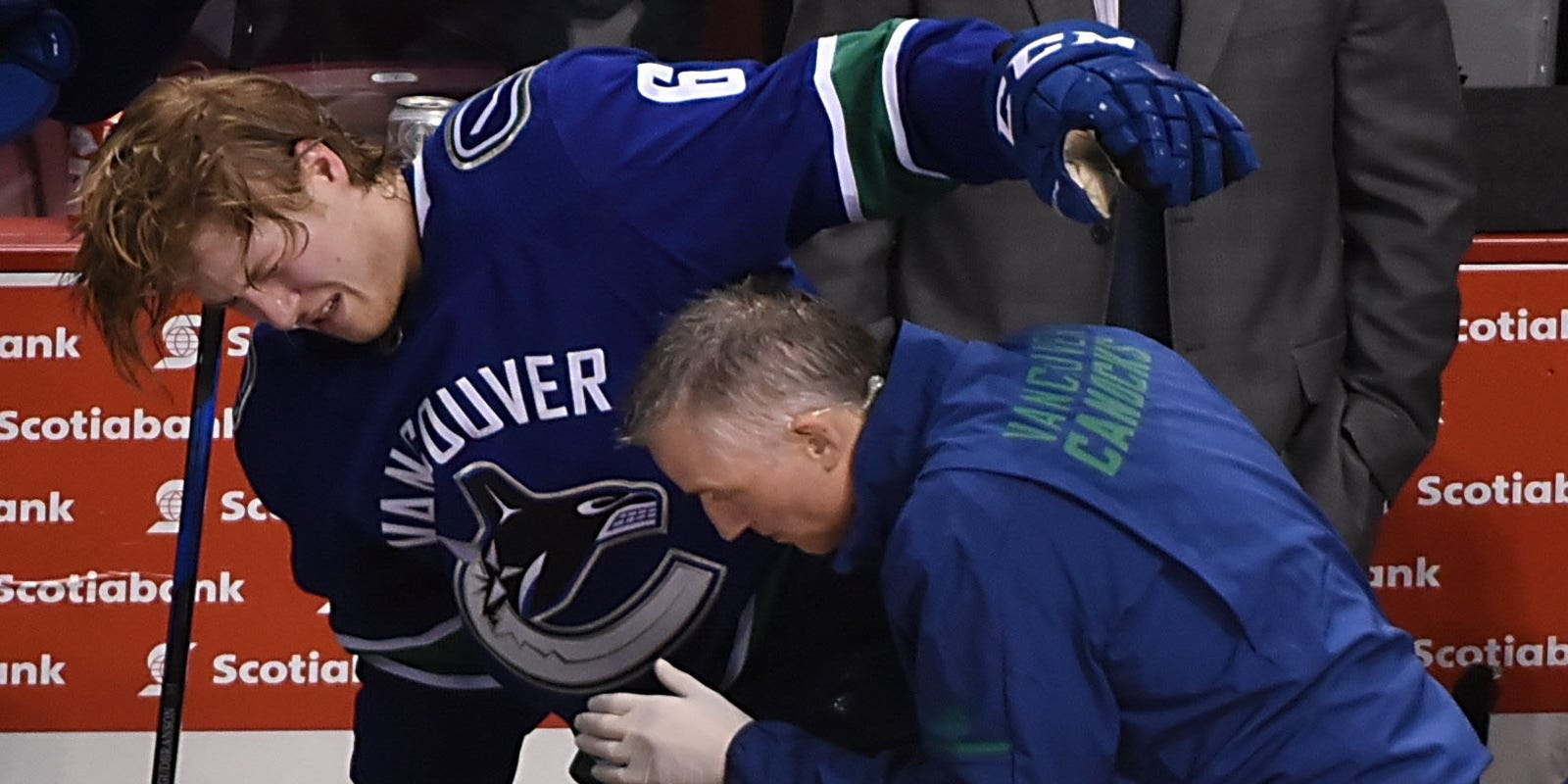 Brock Boeser hospitalized in Canucks  4-3 OT win over Islanders 0850f5150