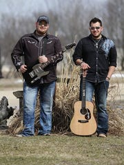 The Mantz Brothers will play at Backroads Saloon's