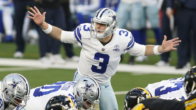 Former Lake Travis High, UT and SMU quarterback Garrett Gilbert got his first NFL start Sunday, nearly leading Dallas to an upset of undefeated Pittsburgh.
