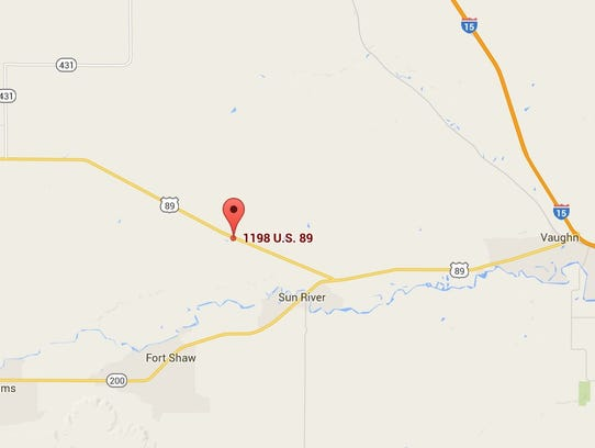 Three Injured In Headon Collision Near Fairfield - Us highway 89 mile map