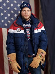 Men's Olympic Opening Ceremony uniform by Ralph Lauren.