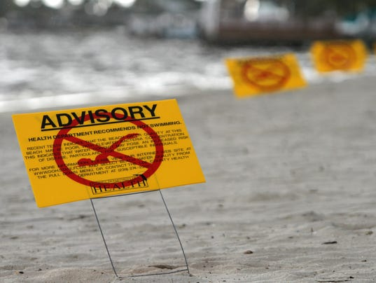 Fort Myers Beach Bacteria Levels