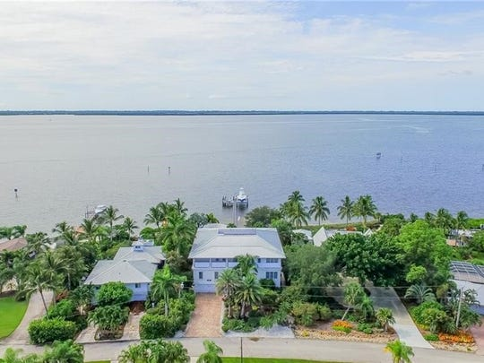 This property on Pine Island recently sold for $1.87 million, setting a record for the area.