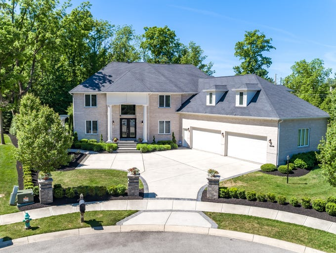 The six-bedroom home at 9546 N. Spice Bush Court, McCordsville,