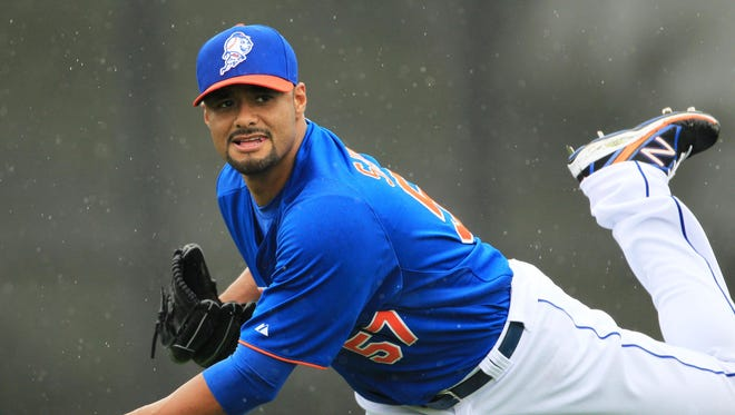 Johan Santana is a four-time All-Star who won AL Cy Young Awards with Minnesota in 2004 and 2006.