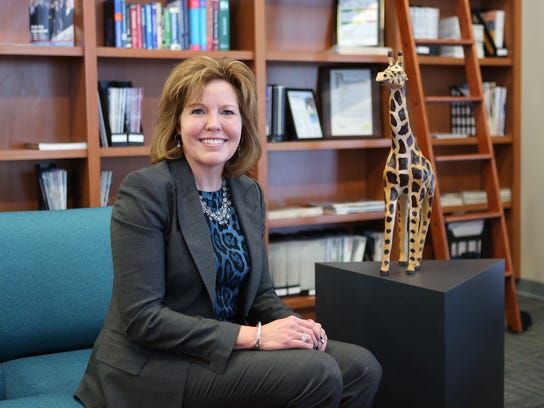 Gina Drosos is president and chief executive of Assurex
