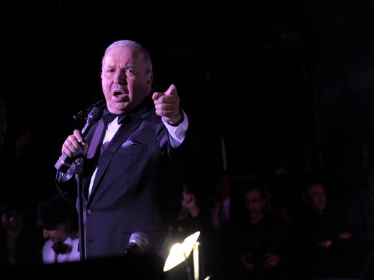 "Frank Sinatra Jr. performs at ""An Evening Affair"" presented"