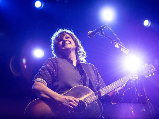 Singer Amy Ray of Indigo Girls performs in 2015 in New York City.