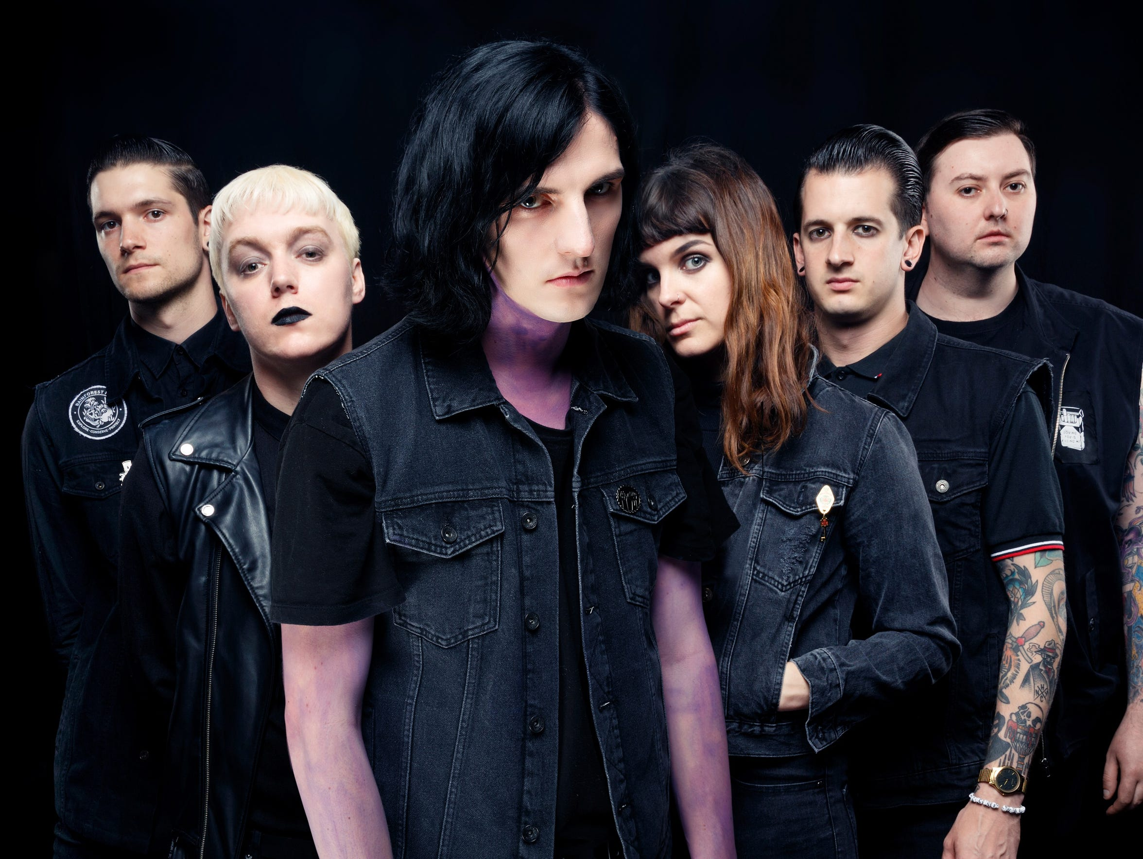 Creeper, an English horror punk band, are on tour with