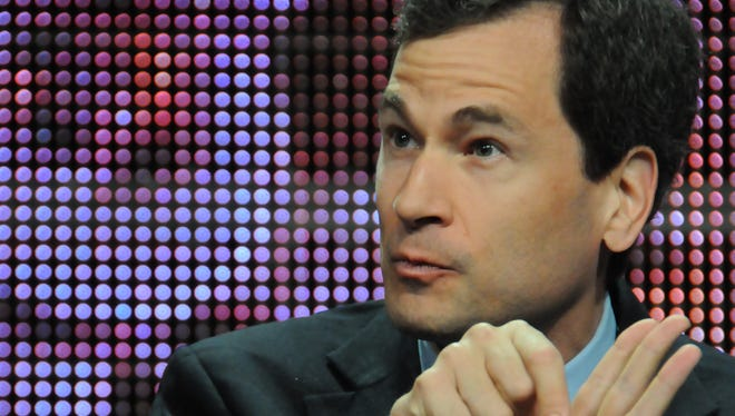 New York Times columnist David Pogue attends the TCA Summer Press Tour in Los Angeles in 2010.