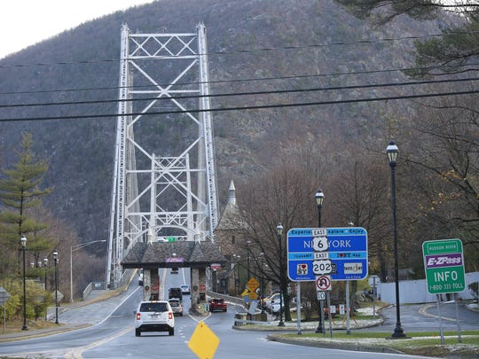The Bear Mountain Bridge is pictured in this 2016 file photo.