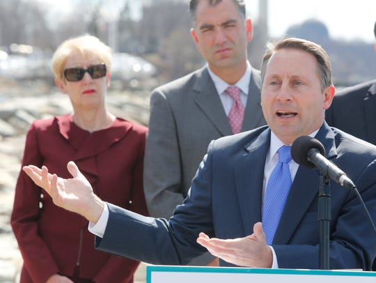 Westchester County Robert Astorino announced a lawsuit