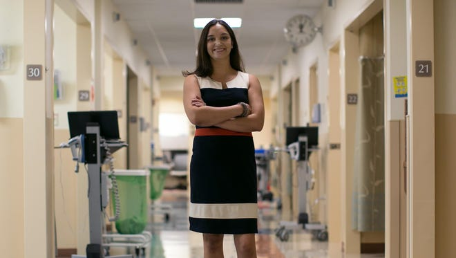 Anesthesiologist Dr. Sonia Pyne at the University of Rochester Medical Center's Sawgrass Surgery Center in Brighton.