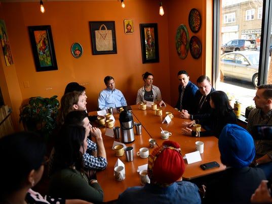 Norcross meets with millennials to talk guns, DACA, debt