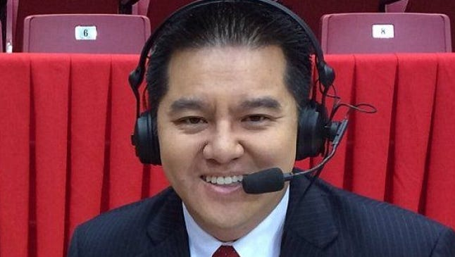 A spokeswoman for ESPN says Robert Lee has been moved to Youngstown State's game at Pittsburgh on the ACC Network on Sept. 2.