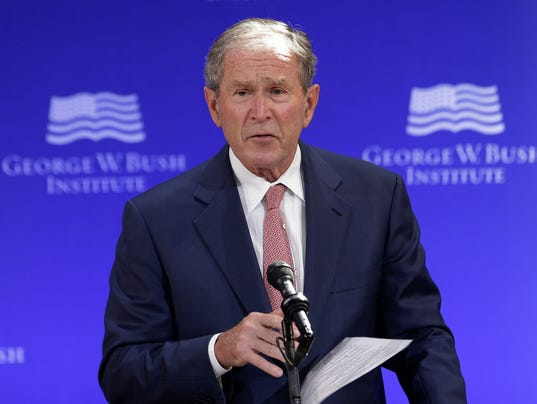George W. Bush : Clear evidence of Russian interference in the election