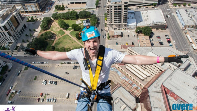 Rappellers will take part in Over the Edge Nashville, a fundraising campaign for Big Brothers Big Sisters of Middle Tennessee, on Thursday and Friday.