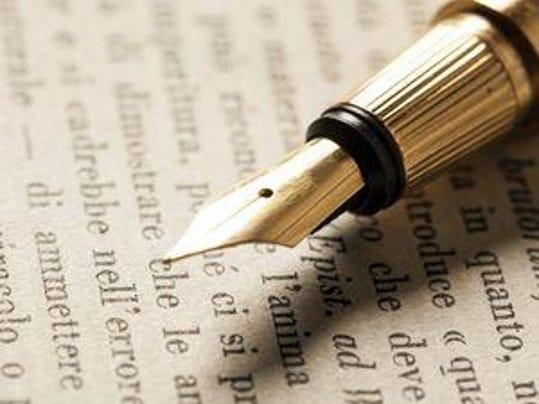 letter to editor art, pen
