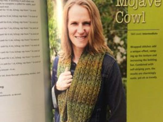 I love this Mojave Cowl, which has a mock cable texture.