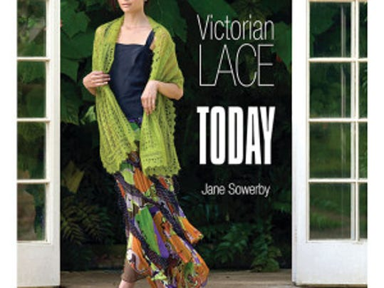"""Victorian Lace Today"" is a classic book, not one of the two I've got to review. I've had this in my library for years, but I don't have the patience yet to knit one of these beauties. Maybe when I retire...."