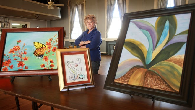 Waynelyn Segotta will have a reception for her exhibit from 3 to 5 p.m. Friday at the El Paso Woman's Club.