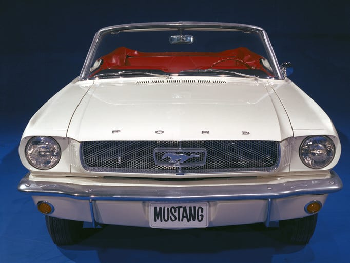 The 1965 Ford Mustang
