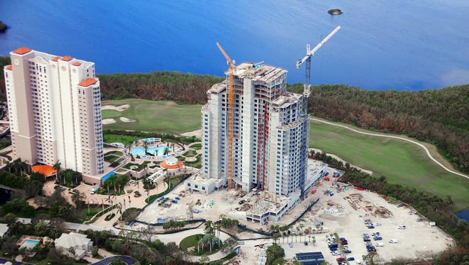 The Ronto Group announced that furnishings are being installed in three model residences at Seaglass, a 26-floor 120-unit high-rise being built by the developer in Bonita Bay. A model grand opening will be held later this month.
