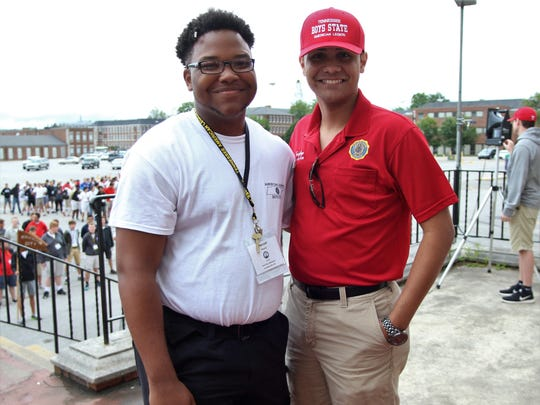 Tennessee Boys State Governor-Elect Marzell Norris,