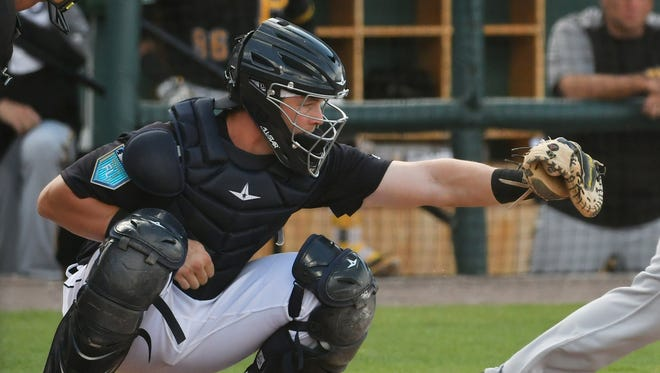 Toledo catcher Grayson Greiner is on a  9-for-19 streak.