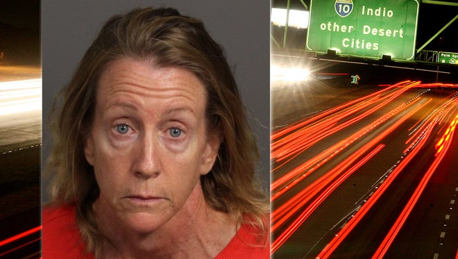 Kerry Glotfelty is accused of leading police on an 85-mile chase on Interstate 10 overnight.