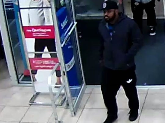 County police are trying to locate these men wanted in connection with credit card fraud.