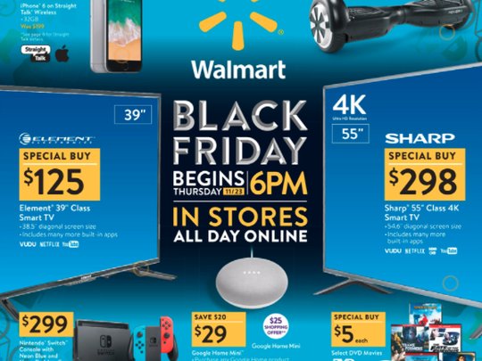 Walmart's Black Friday ad.