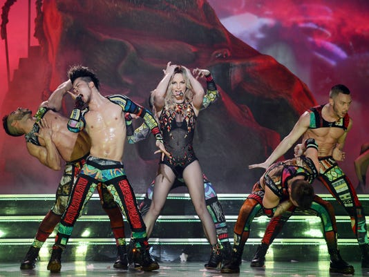 Britney Spears 'Piece of Me' - Toxic