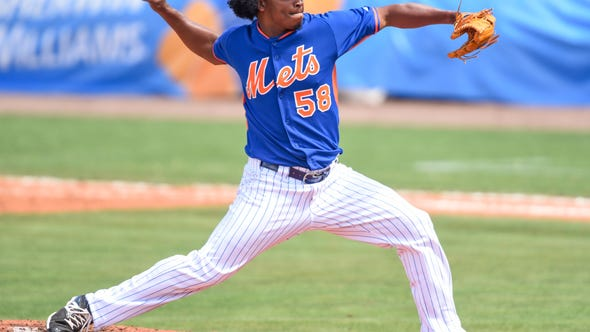 Mets reliever Jenrry Mejia has become the first player