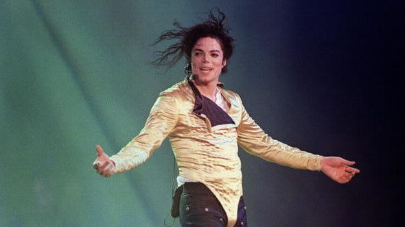 (FILES) US pop star and entertainer Michael Jackson