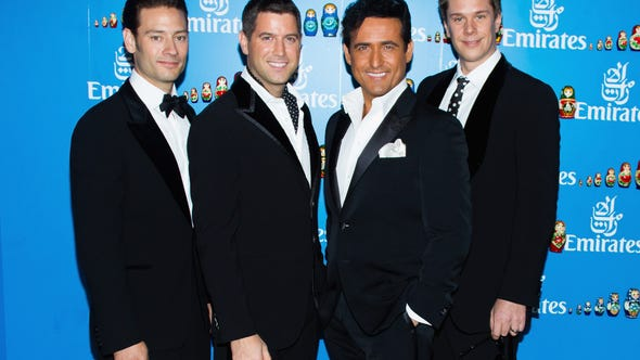 MELBOURNE, AUSTRALIA - NOVEMBER 01:  Il Divo pose at