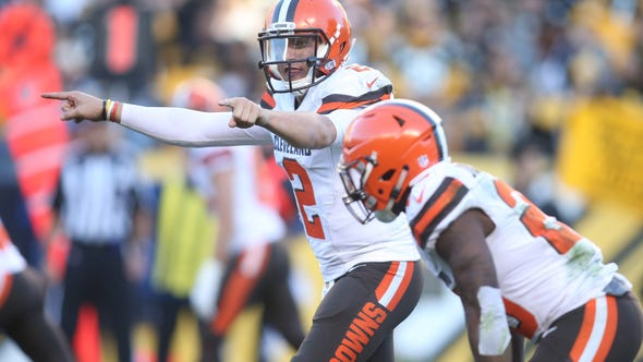 Cleveland Browns wide receiver Travis Benjamin says