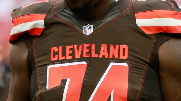 Rookie offensive lineman Cam Erving returns to the