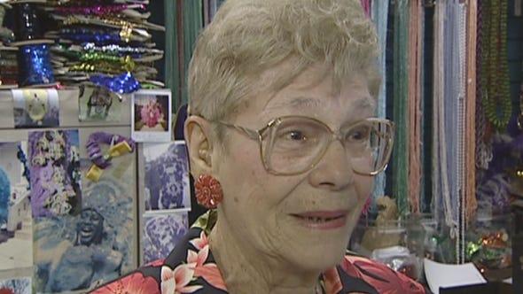 Helen Koenig, whose store Broadway Bound, sold costume