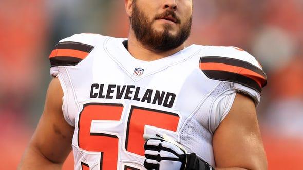 Cleveland Browns center Alex Mack's long road back