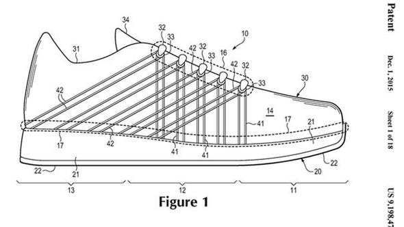 """""""Floating tensile strands"""" could one day help shoes"""