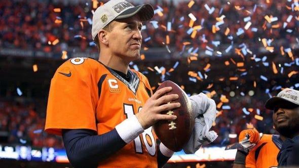 Quarterback Peyton Manning .