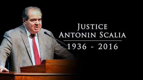 Death of Justice Antonin Scalia
