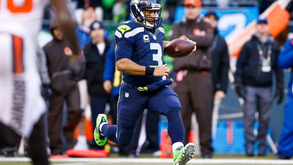 Seattle Seahawks quarterback Russell Wilson continued
