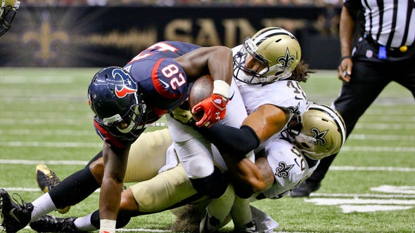 Aug 30, 2015; New Orleans, LA, USA; Houston Texans