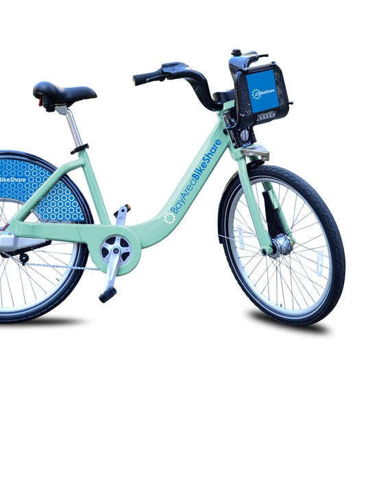 THE BAY AREA AIR QUALITY MANAGEMENT DISTRICT BIKE SHARE BICYCLES