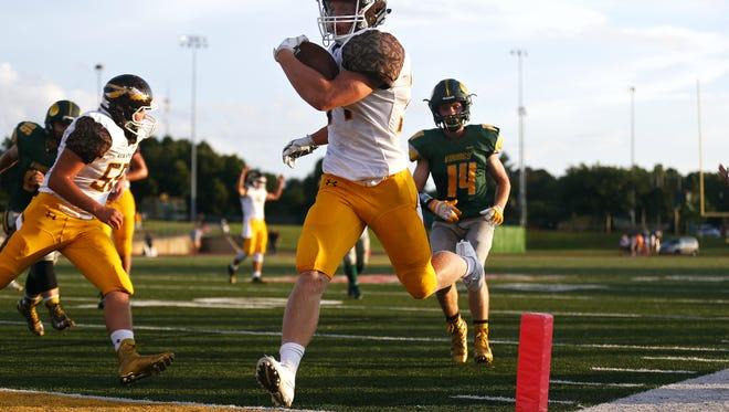 Kickapoo senior running back Maverick McGee has scored 22 touchdowns in his varsity football career.